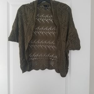 H&M sweater olive green size XS/S